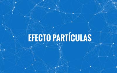 Crear un fondo de partículas animadas en Divi