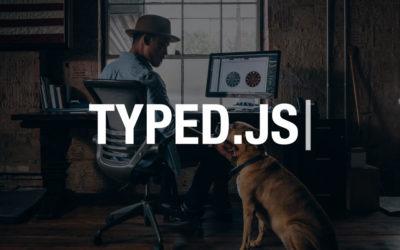 Crear un efecto de maquina de escribir (type effect) en Divi y WordPress