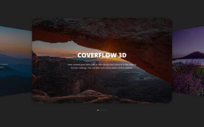 Cómo hacer un slider coverflow 3D con divi y wordpress sin plugins
