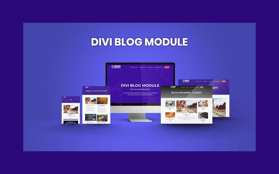 Tutorial Divi Blog Module de Divi Gear: Crea increíbles blogs estilo magazine con divi