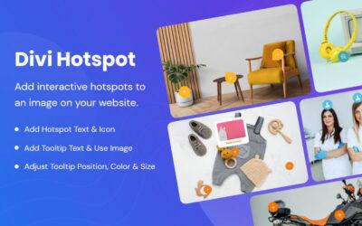 Cómo agregar marcadores (tooltips) con información relevante sobre cualquier imagen con Divi Hotspot