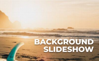 Cómo crear un background slideshow con efectos de animación y transición en divi sin plugins